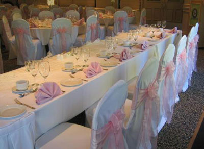 rent linens napkins overlays runners chair covers vancouver bc